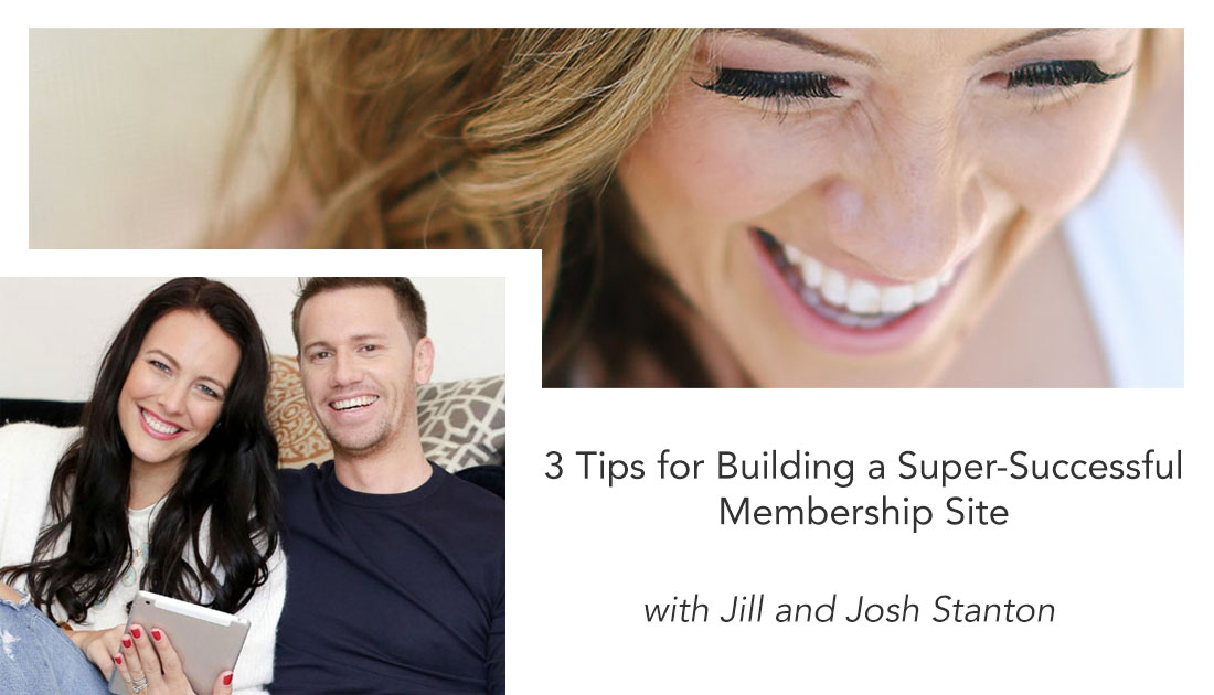 how to build a successful membership site